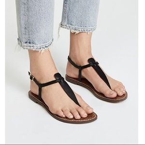 Sam Edelman Gigi Leather Thong Sandal